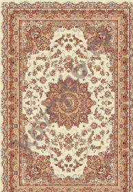 Ковёр ISFAHAN 2874 CREAM-ROSE 1.0*2.0 Овал