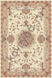 Ковёр ISFAHAN 2458 CREAM-ROSE 1.0*2.0 Овал