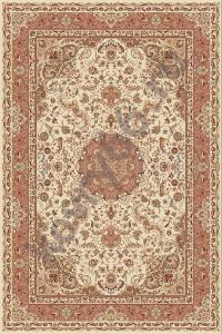 Ковёр ISFAHAN 2870 CREAM-ROSE 1.0*2.0 Овал